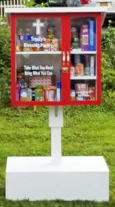 Photograph of the Trinity Blessing Pantry