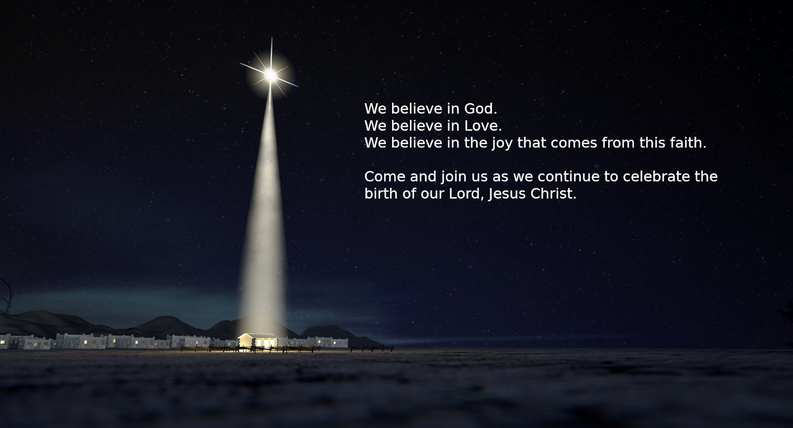 Picture of the Star of Bethlehem.